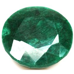 African Emerald Loose Gems 190.94ctw Round Cut