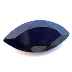 Natural African Sapphire Loose 64ctw Marque Cut