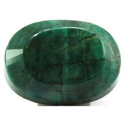 Natural African Emerald Loose 93.75ctw Oval Cut