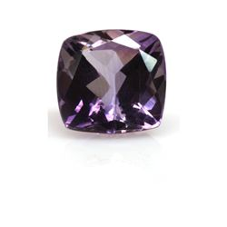 Natural Amethyst 12.62 ctw Cushion Cut