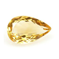 Natural Citrine 4.47 Pear Cut 15x10mm