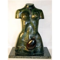 Salvador Dali Captivating  Original, limited Edition Bronze - MONUMENTAL