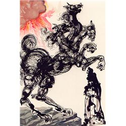 Horseman - Dali - Limited Edition on Canvas