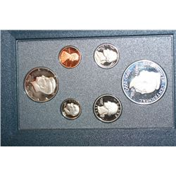 1990-S US Mint Prestige Proof Set W/Commerative Eisenhower Centennial $1 Coin