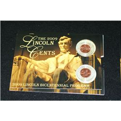 2009 Lincoln-Formative Years Penny Set; P&D Mints; UNC