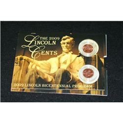 2009 Lincoln-Professional Life Penny Set; P&amp;D Mints; UNC