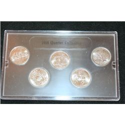 1999-D US State Mint Quarter Set; BU
