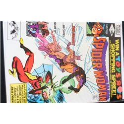 1980 Marvel Comics Group; Spider-Woman  The Hornet Becomes Scotty  Edition