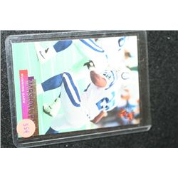 1995 NFL Topps Marshall Faulk-Indianapolis Colts Football Trading Card