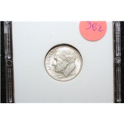 1949-D Roosevelt Dime; MCPCG Graded MS63