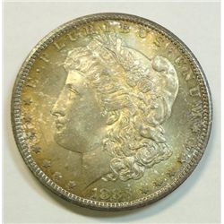 1883-CC Morgan $, ChBU 65, attractive tone, high end for grade