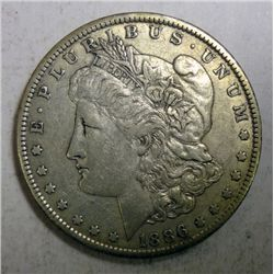 1886-O MORGAN DOLLAR XF-AU ORIGINAL