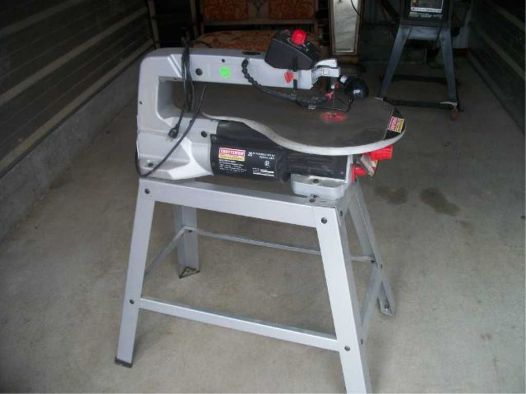 Image 1 Sears Craftsman Pro Scroll Saw 20 Inch Variable