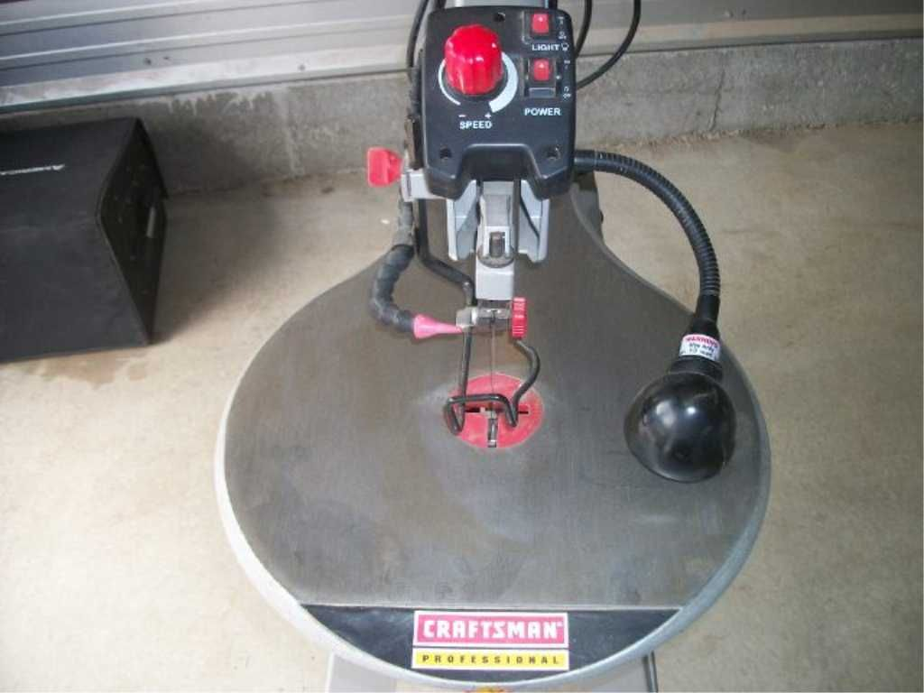 Image 3 Sears Craftsman Pro Scroll Saw 20 Inch Variable