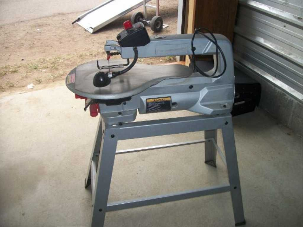 Image 4 Sears Craftsman Pro Scroll Saw 20 Inch Variable