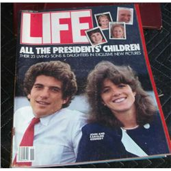 2 Copies of the Torch Is Passed, and Nov 1984 Life Magazine
