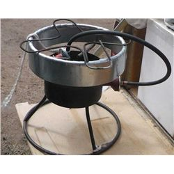 Fish Fry Propane Burner w/ Cooker Turkey Pot .