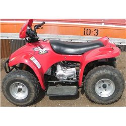 Panterra ATV 90cc 4 Wheeler, 3 Forward Speeds, 1 Reverse, Electric Start, Disc Brakes.