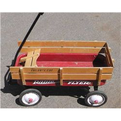 Radio Flyer Wagon w/ Wood Rails