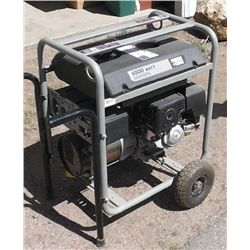 Porter Cable 6500 watt Generator, 37 Hours, w/
