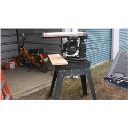 Craftsman Radial Arm Saw Full Table Parts are included