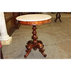 "MARBLE TOP STAND - 24"" ROUND - BROOKS"