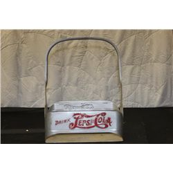 EARLY METAL PEPSI- COLA CARRYING CASE