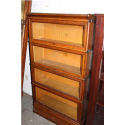 4 STACK OAK MACY BOOKCASE