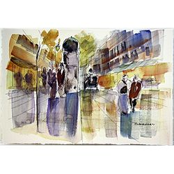 Anton Blanchard  Watercolor Painting.