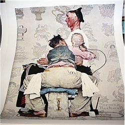 Norman Rockwell Limited Edition Limited Edition - The Tattooist