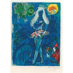Le Cirque- Chagall - Limited Edition on Canvas