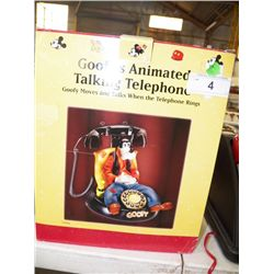 New in Box Goof's Animated Talking Telephone