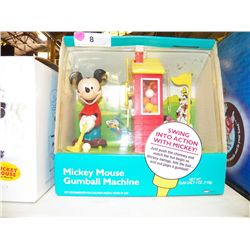 Mickey Mouse Gunball Machine in box