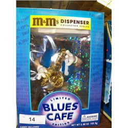 "M & M Dispenser ""Limited Blues Cafe"""