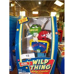 M & M Wild Thing Roller Coaster Dispenser