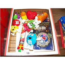 Misc, Lot of M & M Collectibles