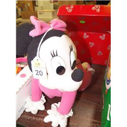 Minnie Mouse Crawling Toy works on battery