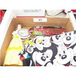 Misc. Lot Of  Mickey Mouse & Beauty & the Beast