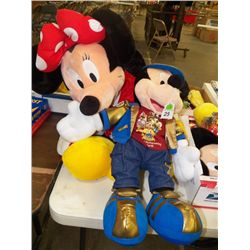 Mickey & Minnie Mouse 50 Year's Stuffed Animals