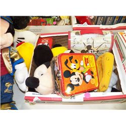 Mickey Mouse Lunch Pail, Sandwich Box With 101 Dalmatians & More