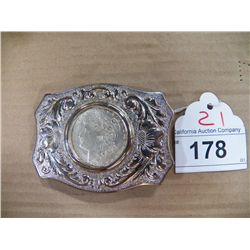 Belt Buckle - Not Real Coins