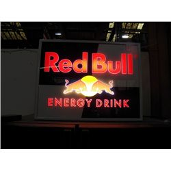 Red Bull Energy Drink Lighted Sign