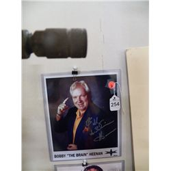 "Bobby ""the Brain"" Heenan Signed Picture approx 8 1/2 x 10 1/2"