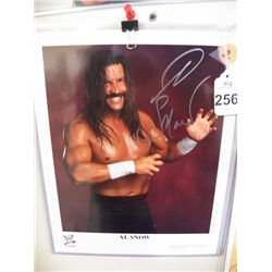 Signed Wrestling Photo 8 x 10