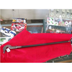Dragon Head Cane Sword 35""