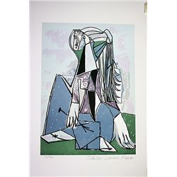 Picasso Limited Edition - Portrait of Sylvette David - from Collection Domaine Picasso
