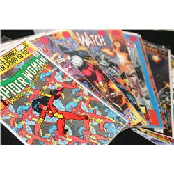 Marvel & Image Comics; Various Dates & Heroes/Villains; Lot of 10