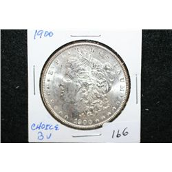 1900 Silver Morgan $1; Choice BU