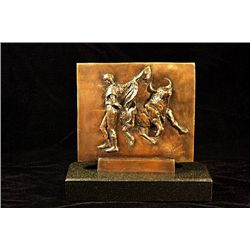 Picasso Signed Limited Edition Bronze Plaque - Bullfight Corrida Matador