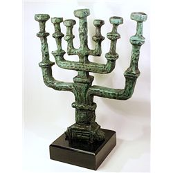 Rare Salvador Dali Limited Edition Bronze- Chandelier de la Paix Menorah